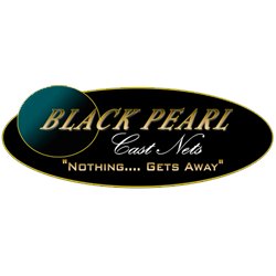 Black Pearl Cast Nets Logo, a proud sponsor of Hawgwild Fishing Charters | Fort Myers Fishing Charters: Near Shore Fishing, Deep Sea Fishing & Back Water Fishing